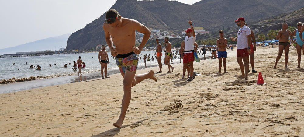 Masaje playa peligroso