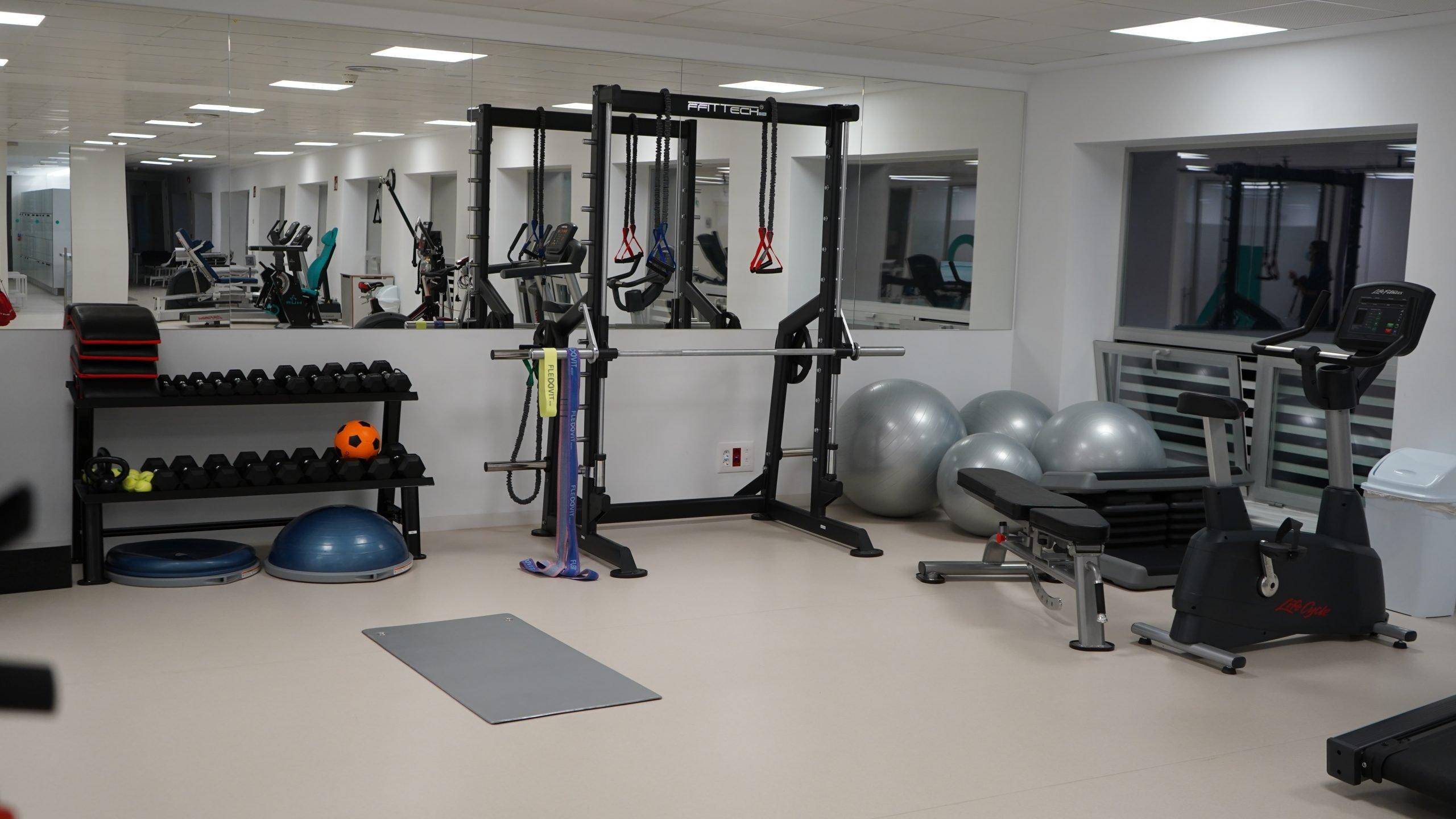 Sala entrenamiento IMSKE