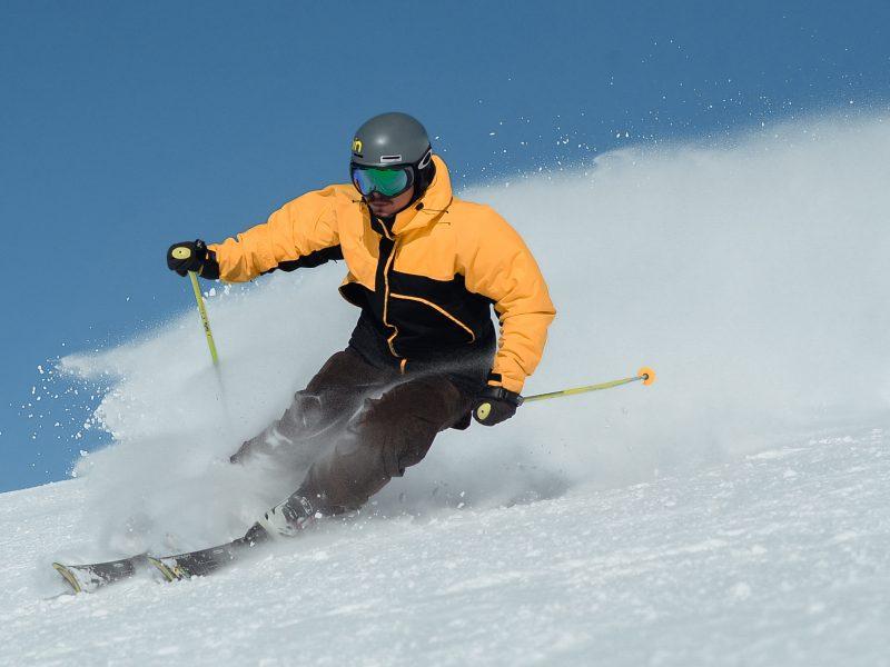 lesiones deportivas al esquiar